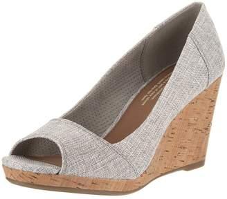 Toms Women's Stella Wedge Casual Shoe 7.5 Women US