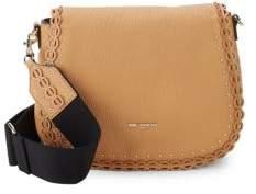 Kleo Leather Saddle Crossbody Bag