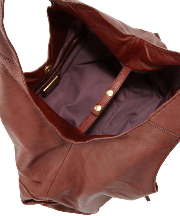 Kooba Owen Slouchy Shoulder Bag, Earth