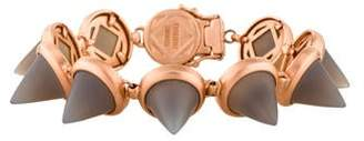 Eddie Borgo Agate Cone Link Bracelet