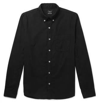 SAVE KHAKI UNITED Button-Down Collar Garment-Dyed Cotton Oxford Shirt
