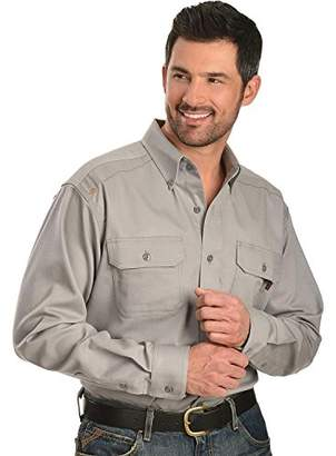 Ariat Men's Flame Resistant Solid Work Shirt Big and Tall - 10012253X