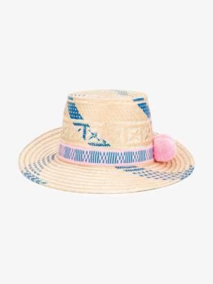 Yosuzi Pink and Blue Marea hat