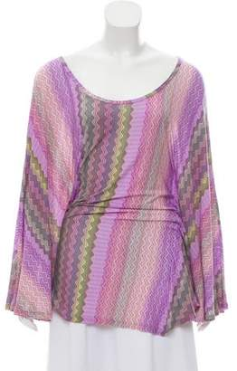 Alexis Printed Lightweight Poncho