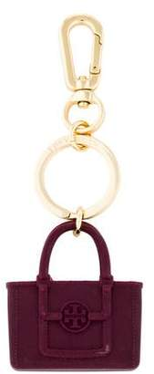 Tory Burch Rubber Handbag Keychain
