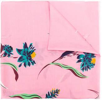 Paul Smith floral scarf
