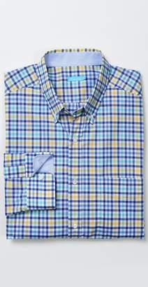 J.Mclaughlin Carnegie Classic Fit Shirt in Check