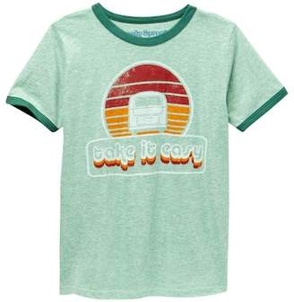 Rowdy Sprout Take It Easy Vintage Tee (Toddler, Little Boys, & Big Boys)