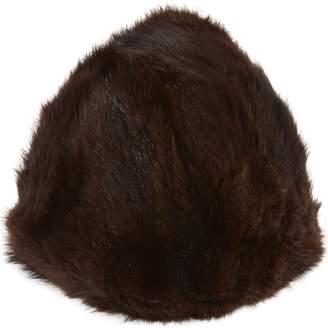 1fb0a1af56d Non Signé   Unsigned Non Signe   Unsigned Brown Faux fur Hats