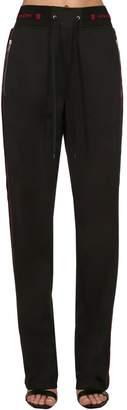 Givenchy Logo Neoprene Jersey Sweatpants