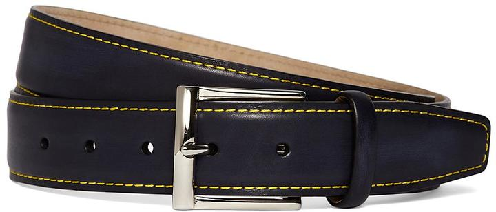 Brooks Brothers Contrasting Stitch Belt