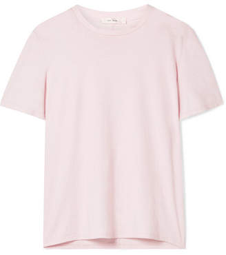 The Row Sotia Cotton-jersey T-shirt - Pink
