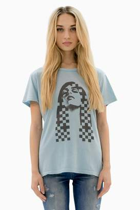 Siwy Madison In Sterling Blue Old School T Shirt