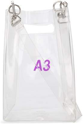 clear Nana-Nana A3 tote bag