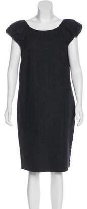 Dolce & Gabbana Chevron Shift Dress