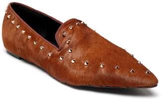 Vicenzo Leather Antonia Genuine Horse Hair Flat