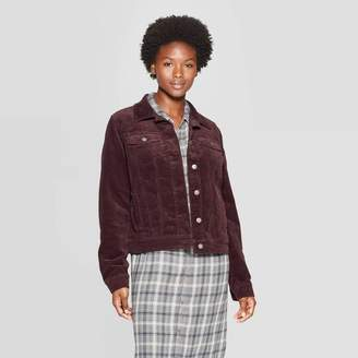 Universal Thread Women's Corduroy Jean Jacket