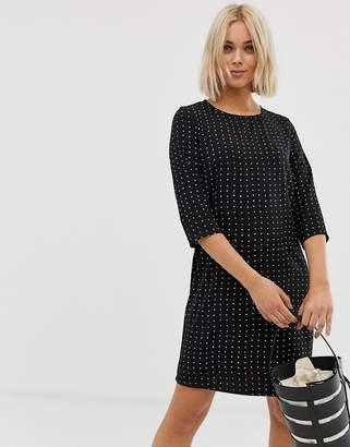 Only Michelle polka dot shift dress