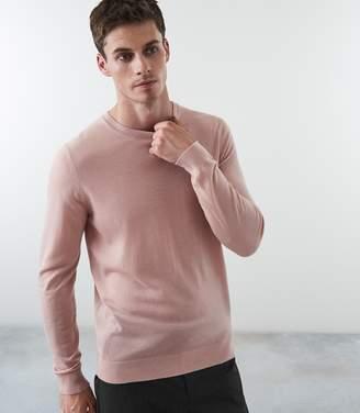 Reiss WESSEX MERINO WOOL JUMPER Pink