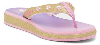 Skechers Sunshines Beach Chic Light-Up Flip Flop (Little Kid & Big Kid)