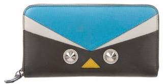 Fendi QuTweet Crayons Continental Wallet White QuTweet Crayons Continental Wallet