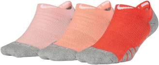 Nike Womens 3-Pack No-Show Training Cotton Socks