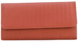Zanellato embossed continental wallet