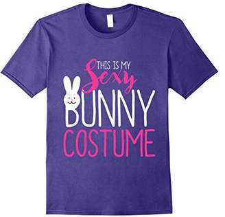 This Is My Sexy Bunny Costume Halloween T-Shirt