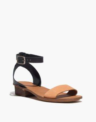 Madewell The Veronique Sandal in Colorblock