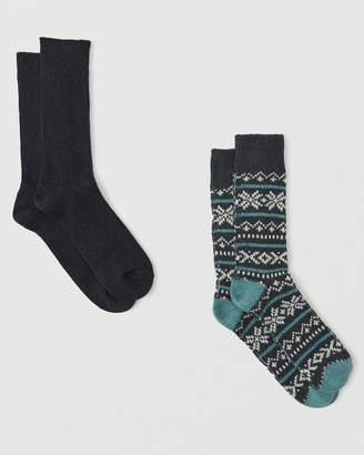 Abercrombie & Fitch 2-Pack Camp Socks
