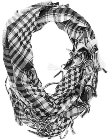 HOUNDSTOOTH/PLAID Scarf