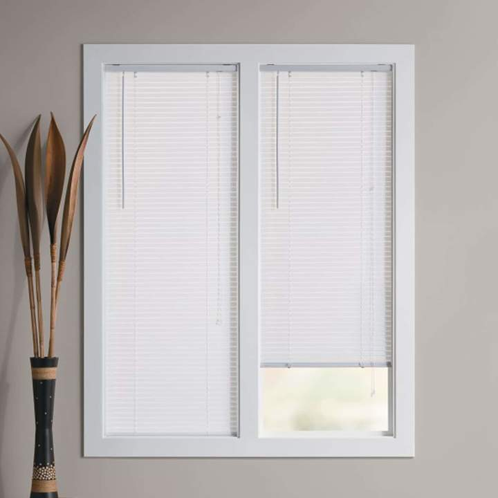 Room Darkening 1'' Slat Vinyl Mini Blinds