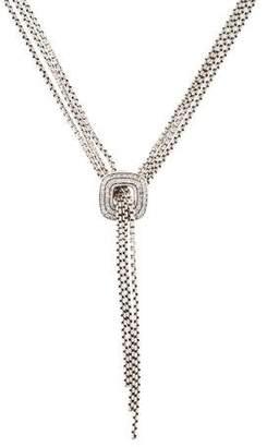 David Yurman Diamond Box Chain Necklace