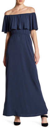 Socialite Off-the-Shoulder Maxi Dress $52 thestylecure.com
