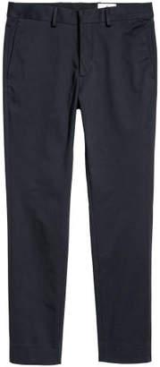 H&M Cotton Twill Chinos - Blue