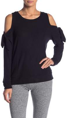 BB Dakota Cold Shoulder Knit Tee