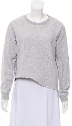 MM6 MAISON MARGIELA Long Sleeve Crew Neck Sweater