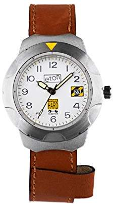 Eton Unisex-Child Analogue Classic Quartz Watch with Leather Strap 1430G-BR
