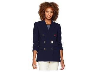Lauren Ralph Lauren Stretch Wool Blazer Women's Jacket