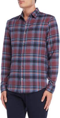 Original Penguin Twisted Flannel Plaid Shirt