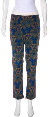 A.L.C. Silk Mid-Rise Pants