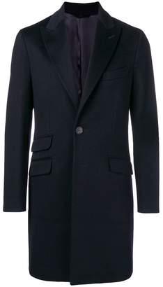 Hevo boxy single-breasted coat