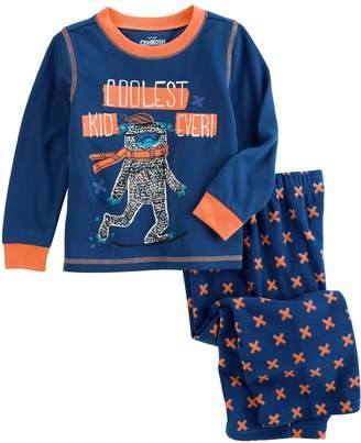 Osh Kosh Oshkosh Bgosh Boys 4-14 Abominable Snowman 2-Piece Pajama Set