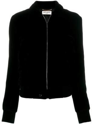 Saint Laurent embellished bomber jacket