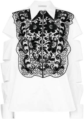 Christopher Kane slash shirt