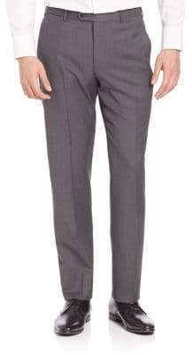Giorgio Armani Basic Textured Wool Trousers