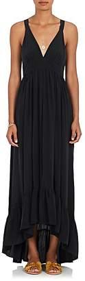 L'Agence Women's Rosina Silk Maxi Dress
