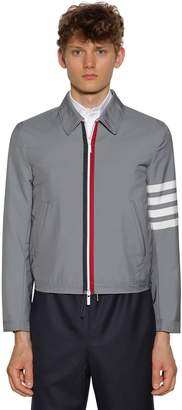 Thom Browne Striped Woven Tech Jacket