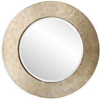"""Howard Elliott Camelot Round Mirror, 36"""" x 36"""""""