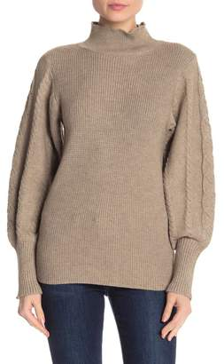 Love Token Long Sleeve Knit Turtleneck